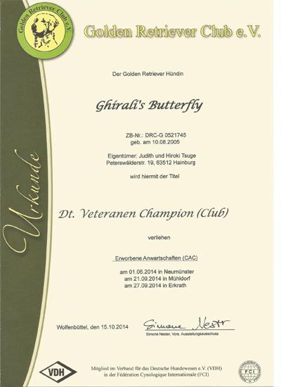 Veteranen-Champion Emily GRC